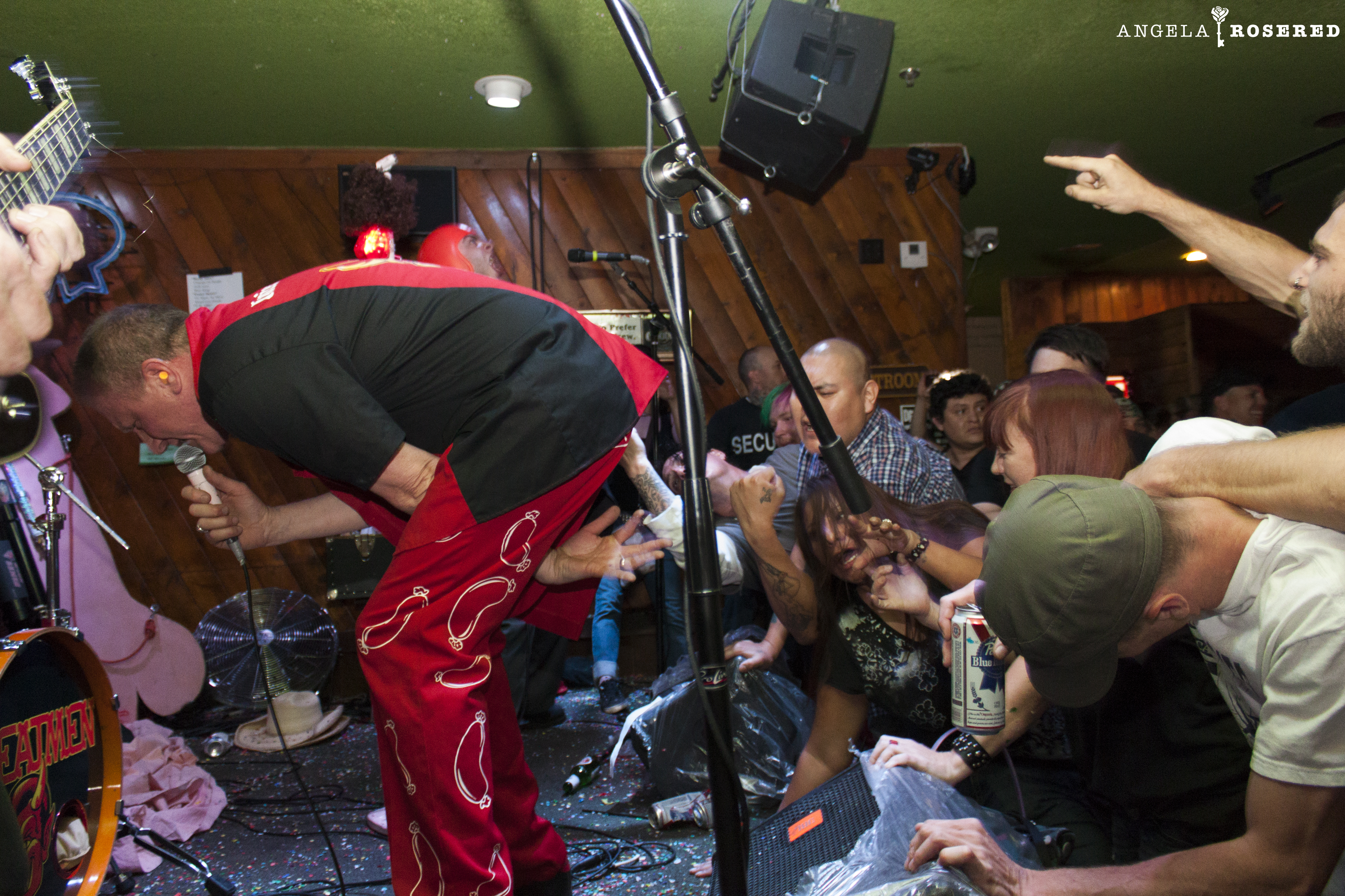 The Meatmen 04/11 at Yucca Tap Room
