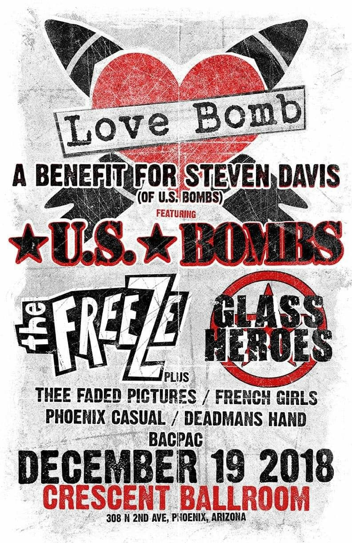 12/19 – Love Bomb: A Benefit Show For Stevie D