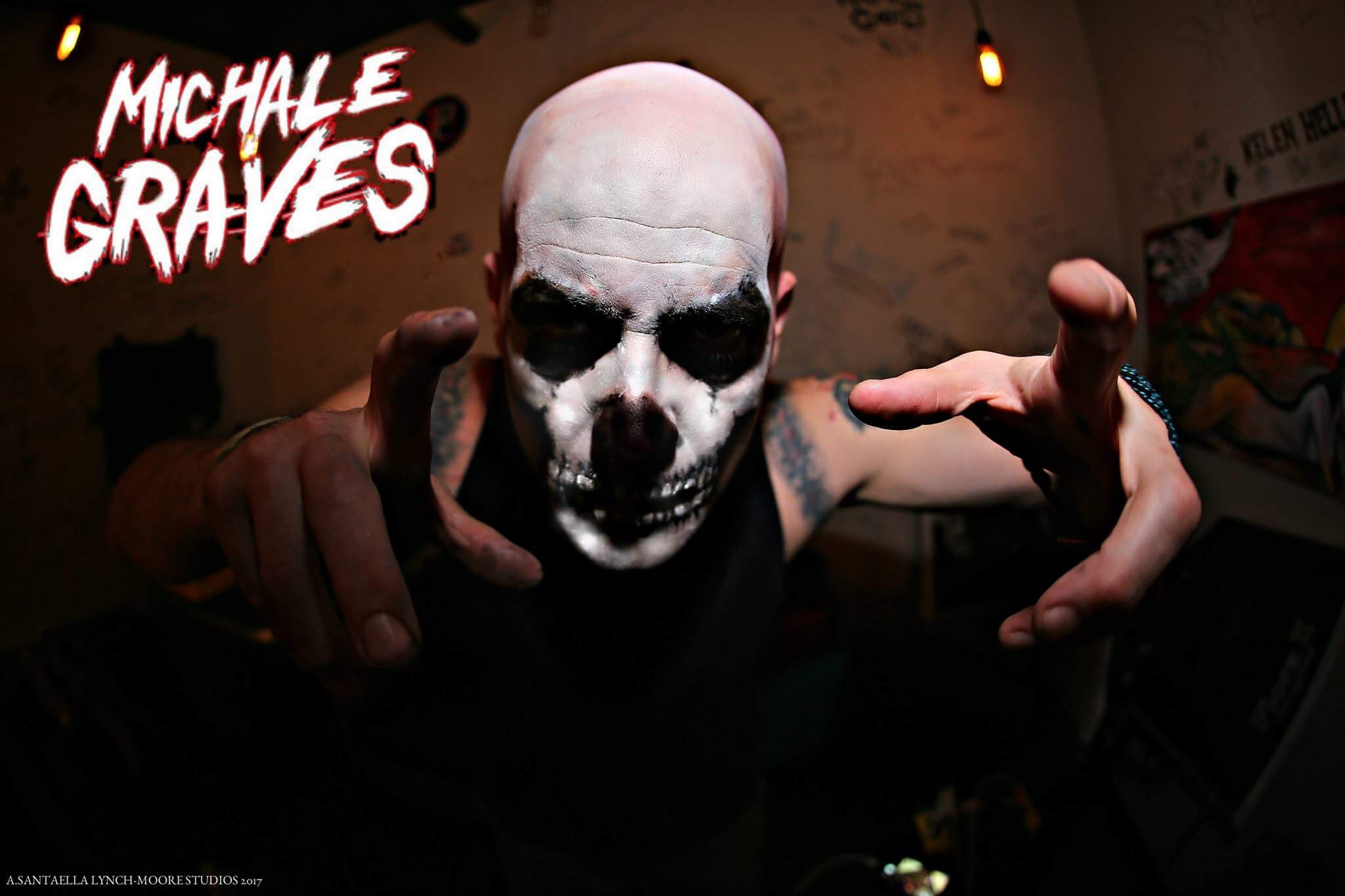 ENTER TO WIN 2 MICHALE GRAVE TICKETS ON HALLOWEEN NIGHT!